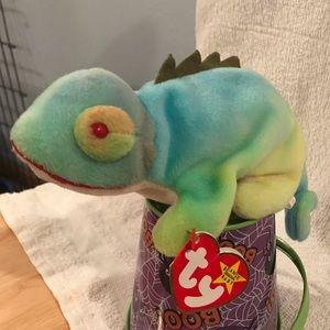 1997 TY Iggy the Iguana Beanie Baby